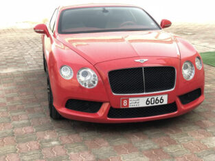Bentley Continental GT sport package GCC 2014