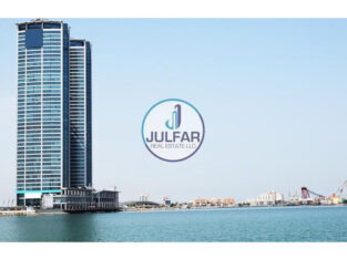 Office With Amazing Sea View for SALE in Julphar T