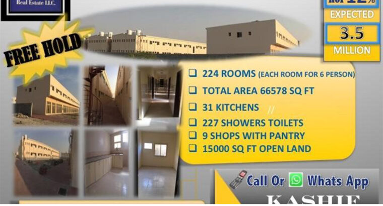 HOT DEAL! 15% ROI BRAND NEW 224 ROOMS 9 SHOWROOMS