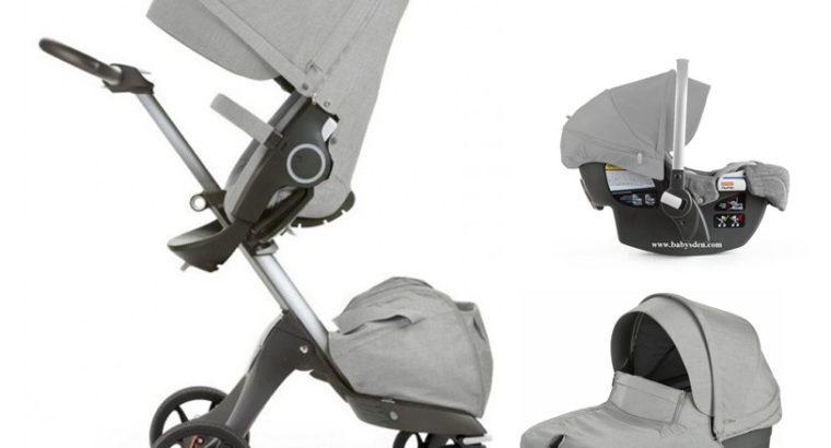 2017 Stokke Xplory V5 Stroller Travel System with