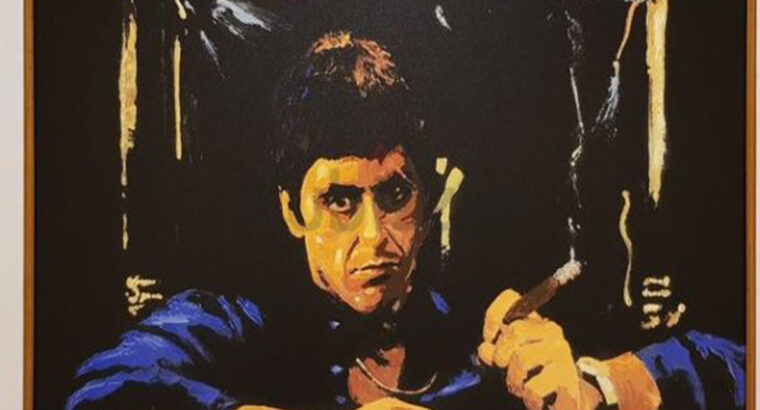 Say Hello to the Bad Guy Giclee signed By Al Pacin