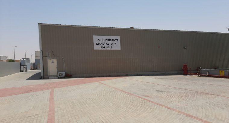 OIL LUBRICANTS MANUFACTORY in Jazeera Al Hamra