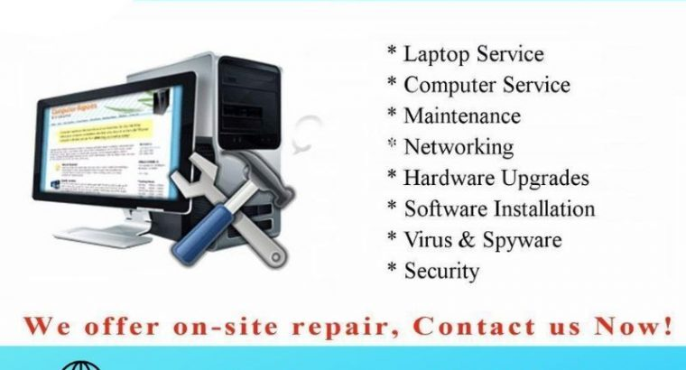 To Fix Your PC Repair in Dubai with certified serv