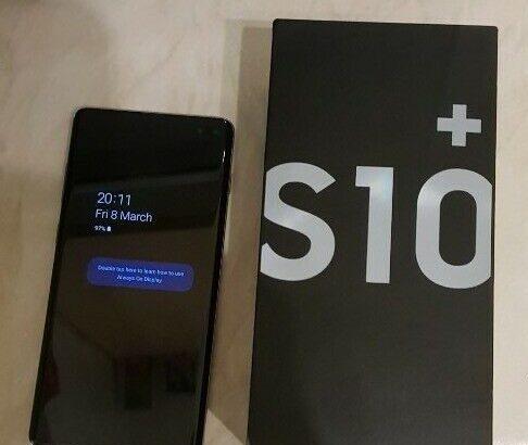Samsung Galaxy S10+ 128GB cost $420USD , Samsung G