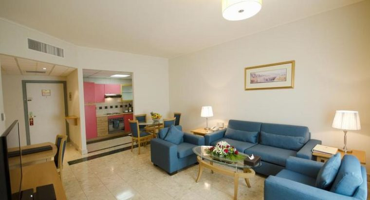 Fully Furnished One Bedroom in a Luxury Hotel Apar