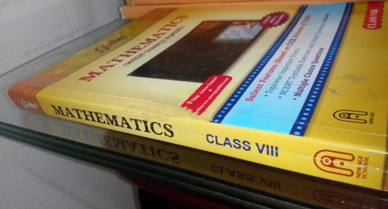 Mathematics Class 8 Golden guide