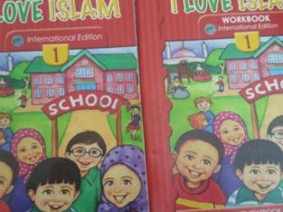 Islamic text book and workbook