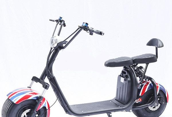 Fat Tyre Scootzy with 2 seats 800 w