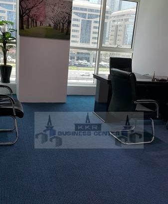 Fully Furnished Office, Sheikh Zyed Road – No Comm
