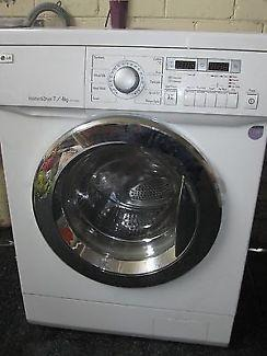 Lg Washing Machine 7/4 Kg For Sale 630 Dhs 6 Month