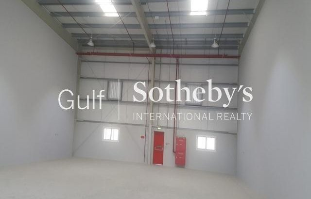 Brand New Warehouse For Rent Al Quoz 2