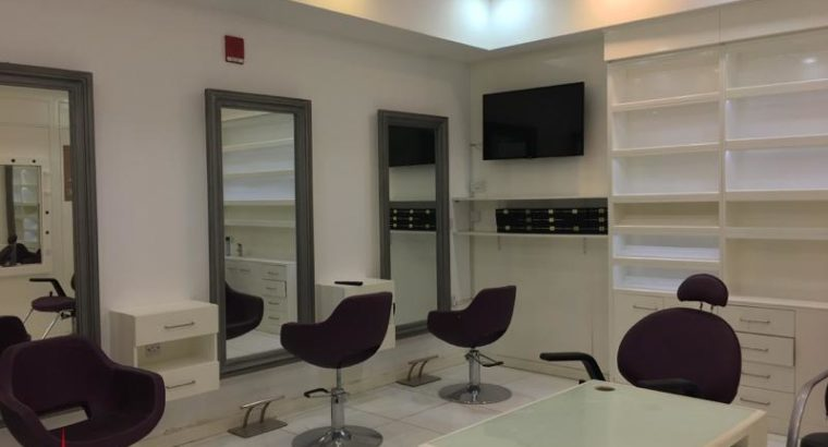 Fully Furnished Salon in Park Towers