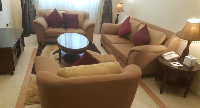 CLEARANCE ON LUXURY SOFAs IN BAITY HOTEL APT IN BU