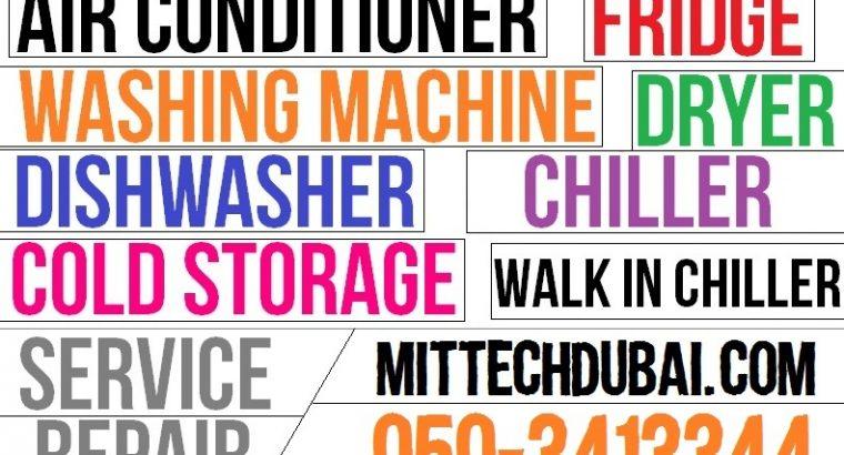 Ac Fridge Washing Machine Dryer Repairing Gas Fill
