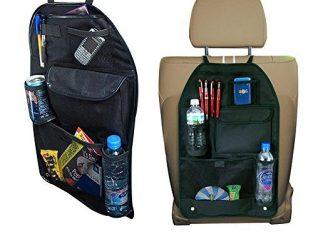 car pocket bags pair