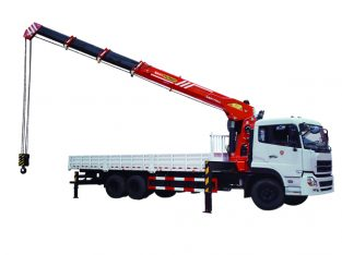 Truck Mounted Cranes Manlift 16 mt sale and rent