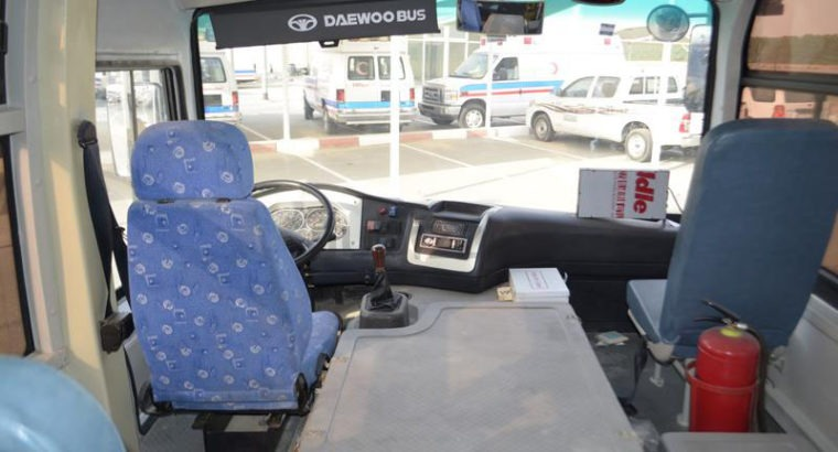 AS GOOD AS NEW DAEWOO 29 SEATER BUS WITH AC GCC SP