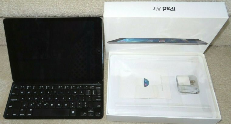 Apple iPad Air 1st Gen 64GB Wi-fi 9.7 Space Gray