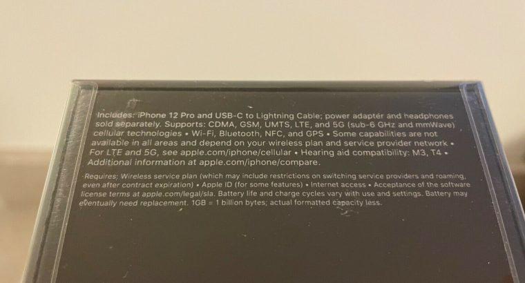 Apple iPhone 12 Pro – 256GB – Silver (Unlocked)