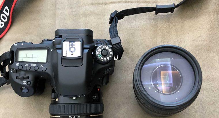 كاميرا كانون80D