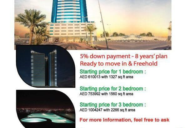 2 Bedrooms Starts from Price 753,000 Size 1560