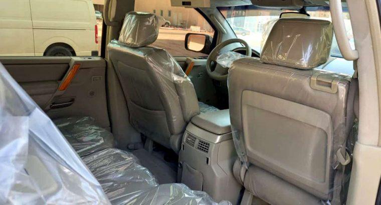 انڤينيتي فورويل عائلية QX56 موديل 2006 Family car