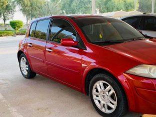 Full option car Megane Model 2009