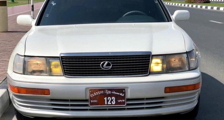 Lexus ls 400 model 1989