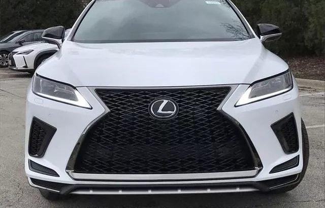 Lexus Model RX350 model 2020