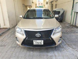 Toyota corrolla model 2011 full option Gcc