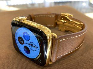 44mm Apple Watch Series 5 Custom 24K Gold Plated