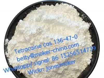 High quality tetracaine cas 136-47-0 low price