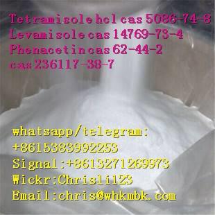 chris@whkmbk.com Tetramisole hcl cas 5086-74-8